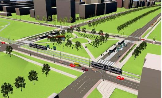 модель реконструкции автомобильной дороги