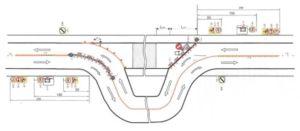 пример схемы организации дорожного движения в городе